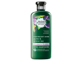Herbal Essences Pflegespuelung pure renew Lightweigt Shine Gurke Gruener Tee