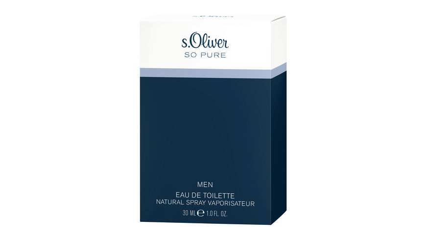 s Oliver So Pure Eau de Toilette Natural Spray