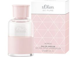s Oliver So Pure women Eau de Parfum Natural Spray