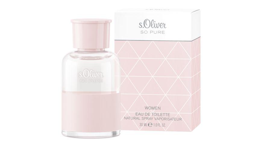 s Oliver So Pure Women Eau de Toilette Natural Spray