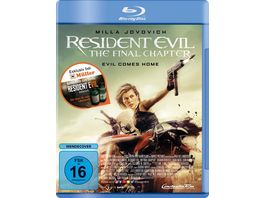 Resident Evil The Final Chapter exklusive Version inkl Resident Evil 7 Heal Items Gamecode Blu ray Disc