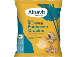 Alnavit Bio Parmesan Cracker glutenfrei