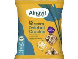 Alnavit Bio Zwiebel Cracker glutenfrei