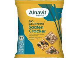 Alnavit Bio Saaten Cracker glutenfrei