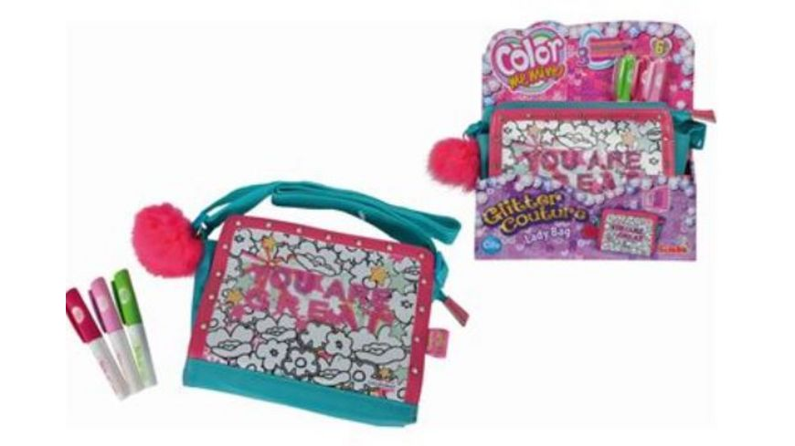 Simba Color me mine Glitter Couture Lady Bag