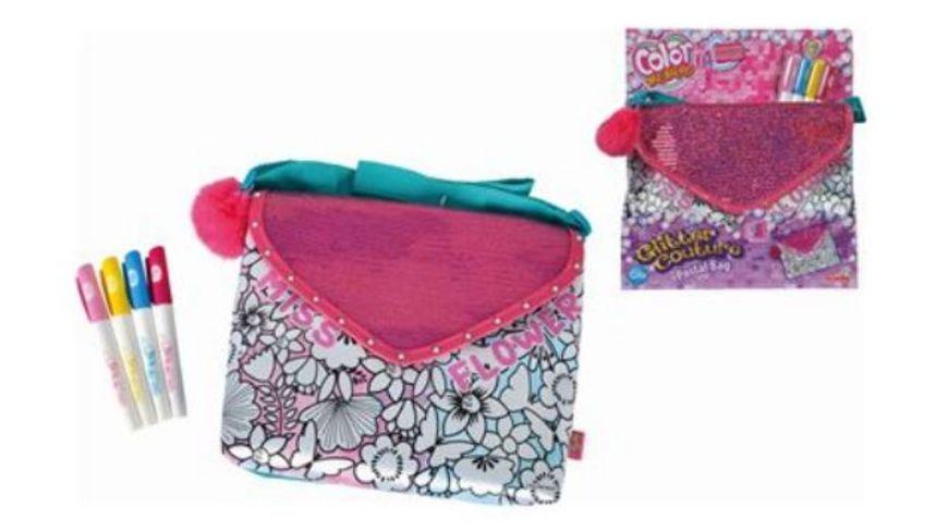 Simba Color me mine Glitter Couture Postal Bag