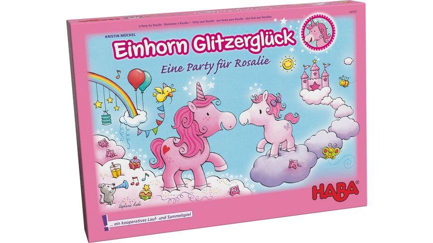 HABA Einhorn Glitzerglueck Eine Party fuer Rosalie