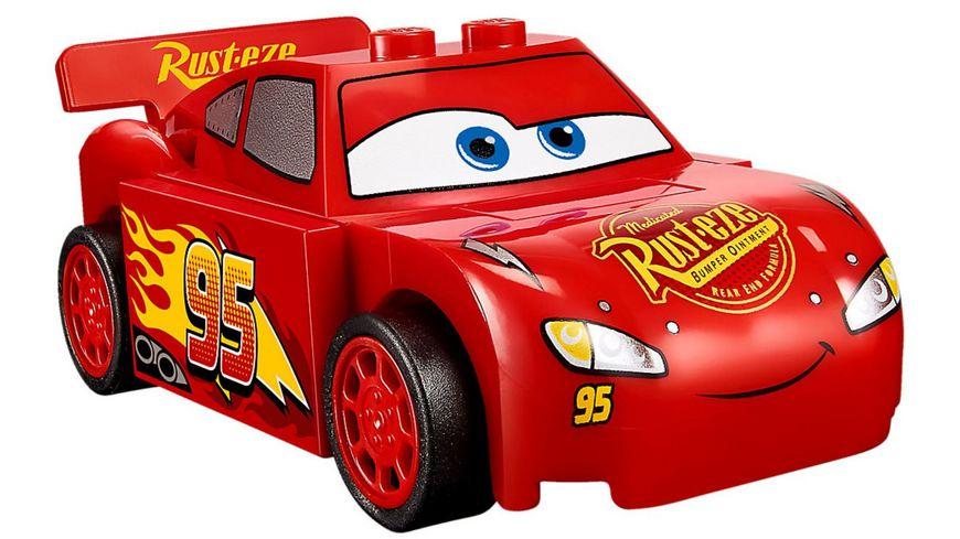 LEGO Juniors 10730 Lightning McQueens Beschleunigungsrampe