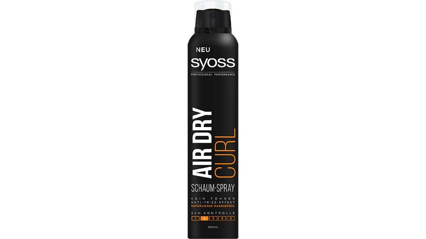 syoss Schaum Spray Air Dry Curls