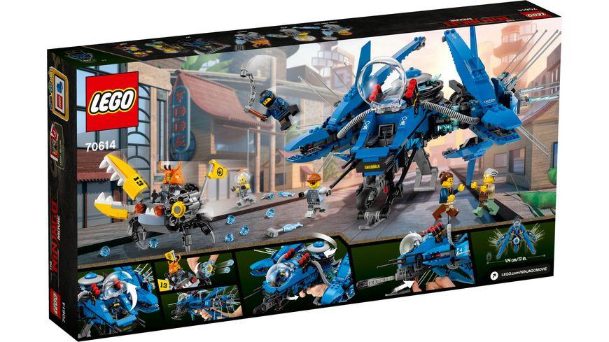LEGO Ninjago 70614 Jay s Jet Blitz