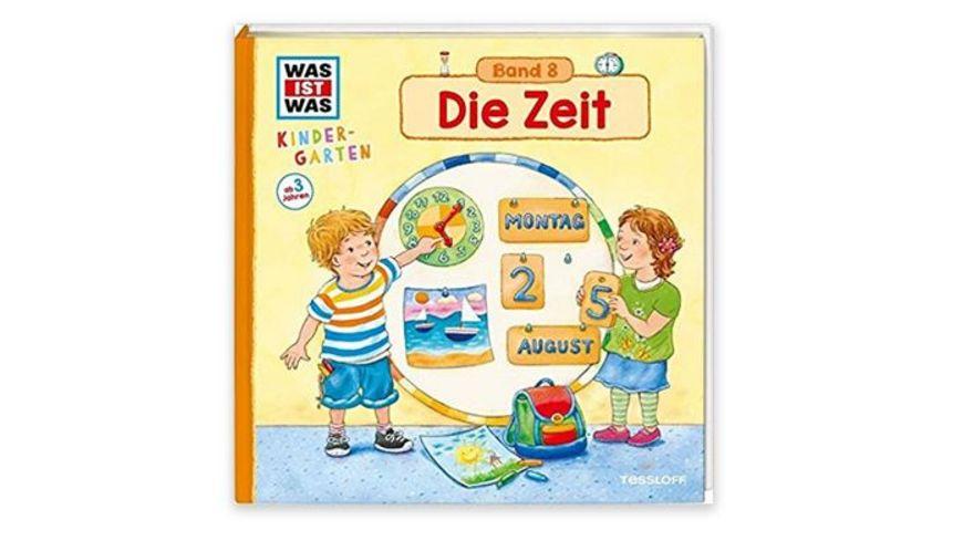 Tessloff Was ist Was Kindergarten Die Zeit Band 8