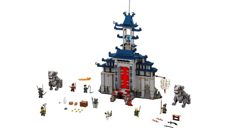 LEGO Ninjago 70617 Ultimativ ultimatives Tempel Versteck