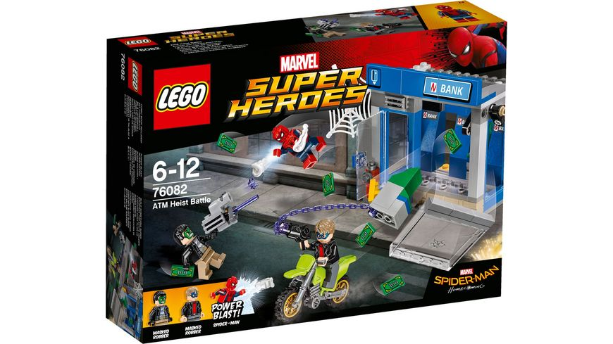 LEGO Marvel Super Heroes Marvel Spider Man 76082 Action am Geldautomaten