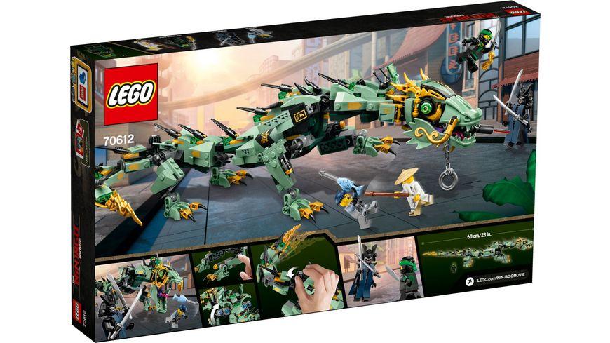 LEGO Ninjago 70612 Mech Drache des Gruenen Ninja