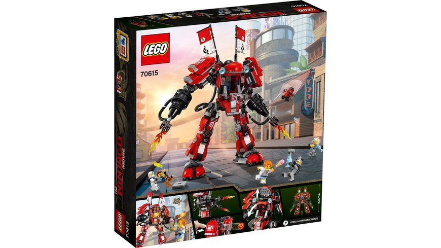 LEGO Ninjago 70615 Kai s Feuer Mech