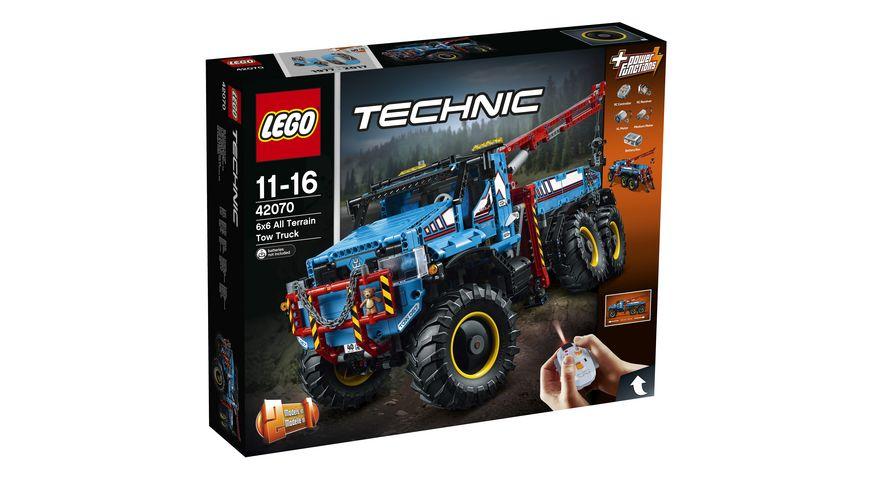 LEGO Technic 42070 Allrad Abschleppwagen