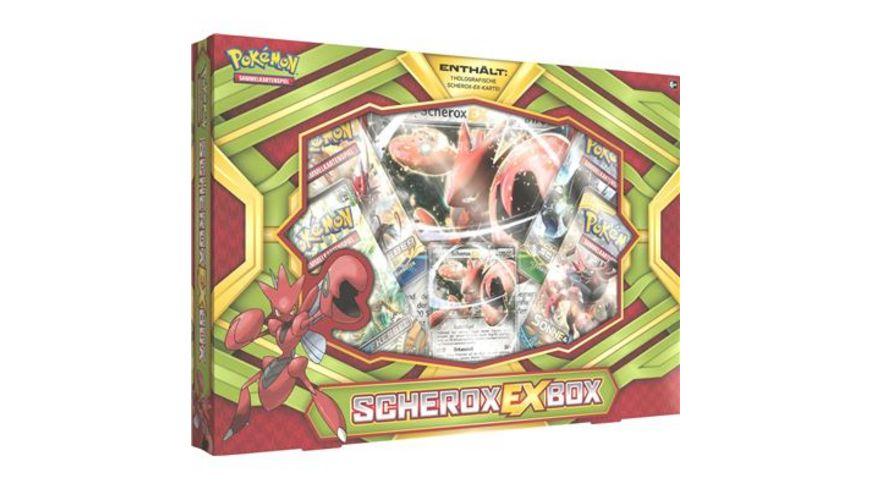 Amigo Spiele Pokemon Scherox EX Box DE Fix6