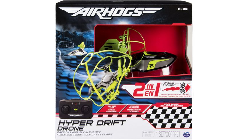 Spin Master Air Hogs Hyper Drift Drone Hovercraft