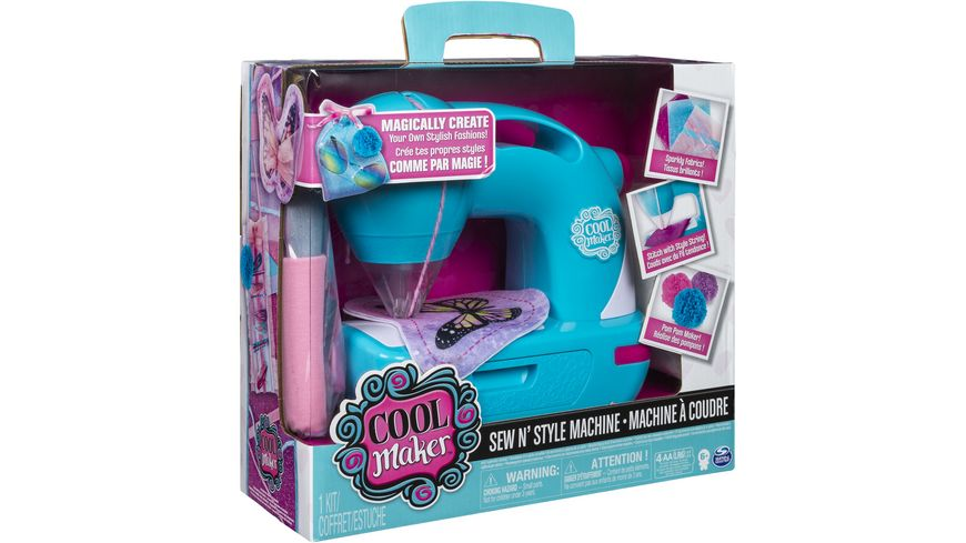 Spin Master Sew Cool Sew N Style Machine