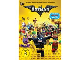 The Lego Batman Movie exklusive Version inkl GRATIS Kinoticket fuer The LEGO Ninjago Movie DVD