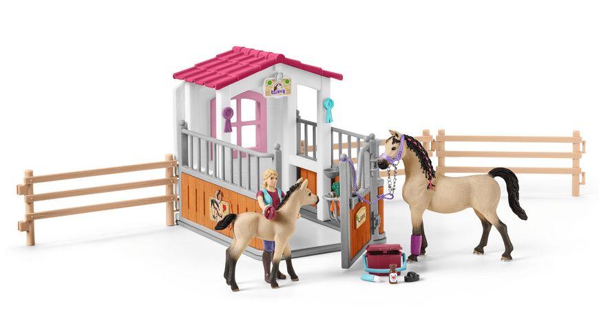 Schleich Horse Club Pferdebox mit Zubehoer