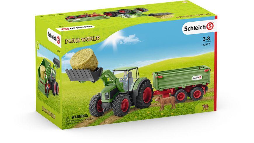 Schleich Farm World Bauer mit Traktor und Zubehoer