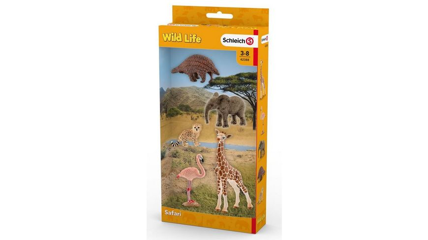 Schleich Wild Life Tier Mix