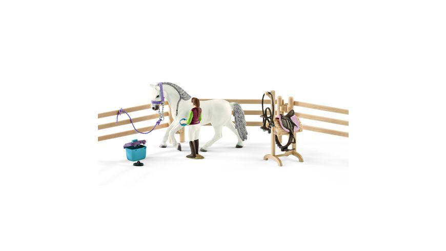 Schleich 42389 Horse Club Reitschule mit Zubehoer