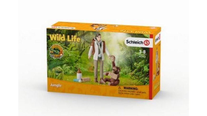 Schleich Wild Life Tieraerztin im Einsatz