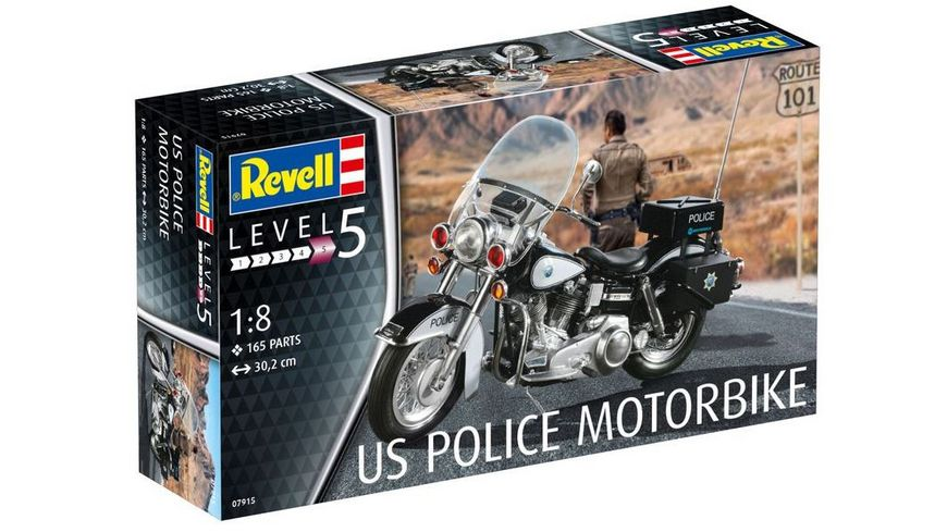 Revell 07915 US Police Motorbike