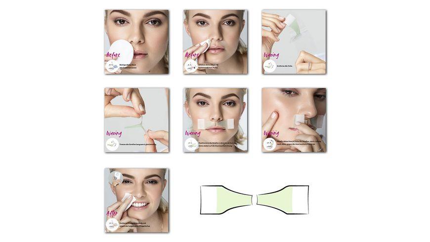 andmetics Lip Wax Strips