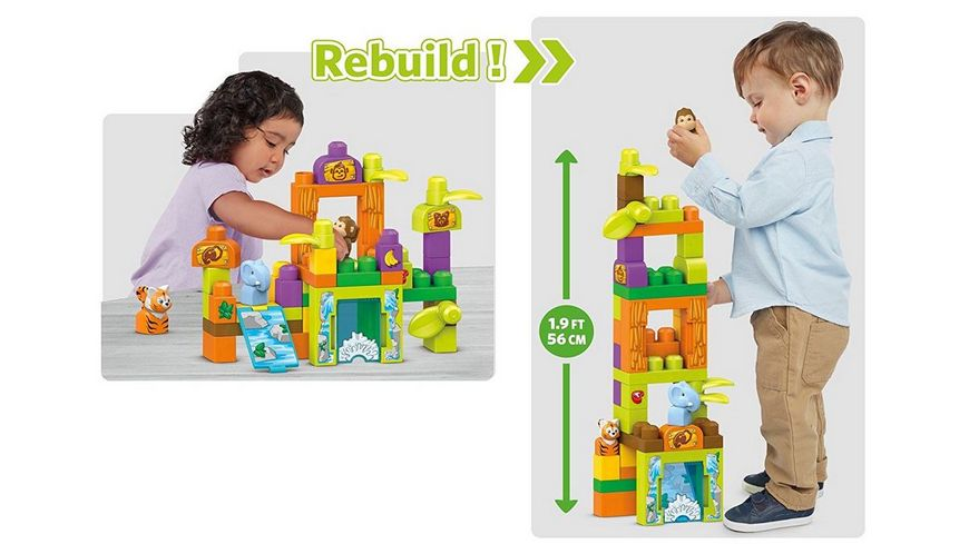 Fisher Price Mega Bloks Safarifreunde Zoo