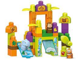 Mattel Mega Bloks Safarifreunde Zoo