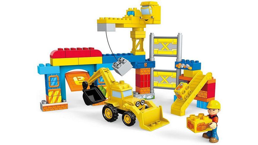 Fisher Price Mega Construx Bob der Baumeister Werkstatt Bauset