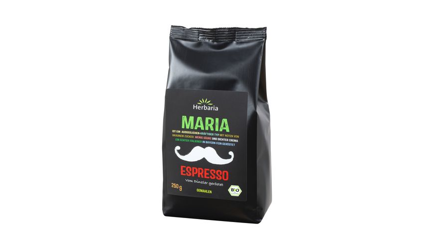 Herbaria Maria Espresso gemahlen bio