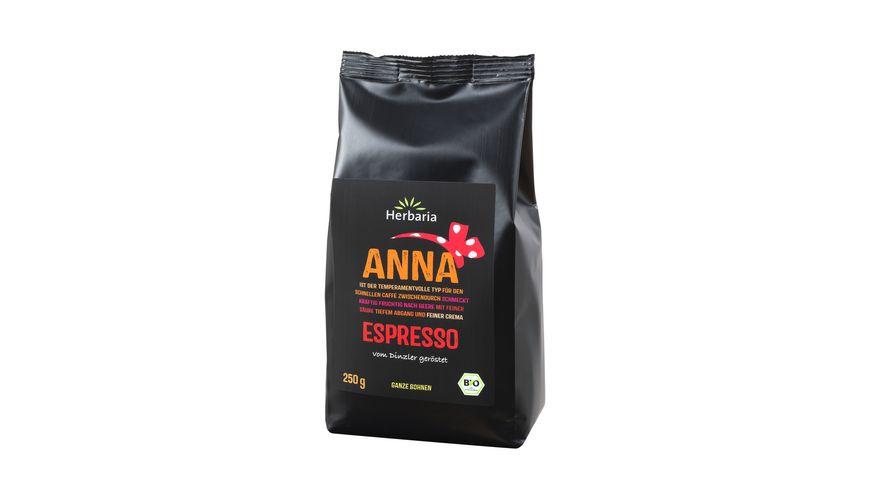 Herbaria Anna Espresso ganze Bohne bio
