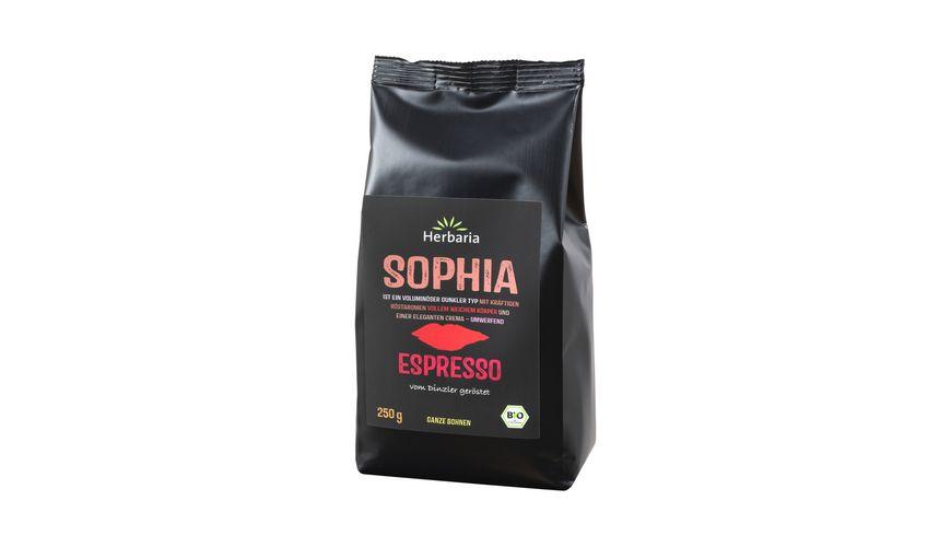 Herbaria Sophia Espresso ganze Bohne