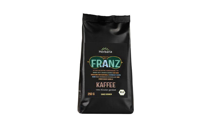 Herbaria Franz Kaffee ganze Bohne bio