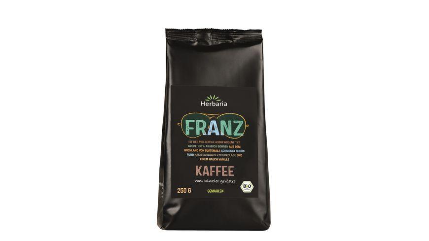 Herbaria Franz Kaffee gemahlen bio