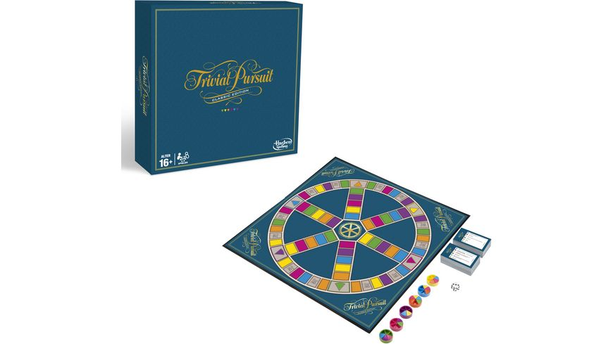 Hasbro Gaming Trivial Pursuit