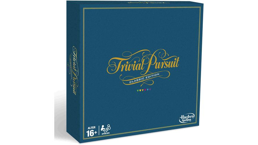 Hasbro Gaming Trivial Pursuit