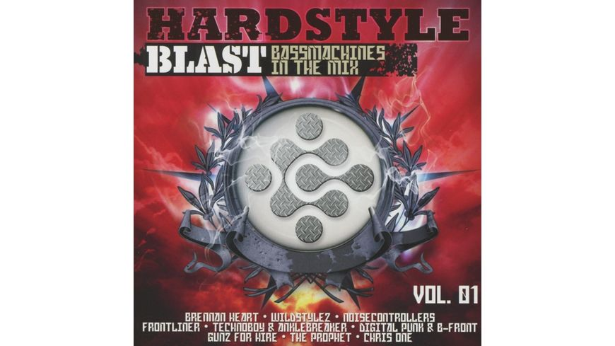Hardstyle Blast Vol 1 Bassmachines Mix