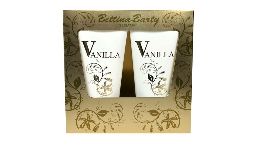 Bettina Barty VANILLA Shower Gel und Body Lotion Geschenkset