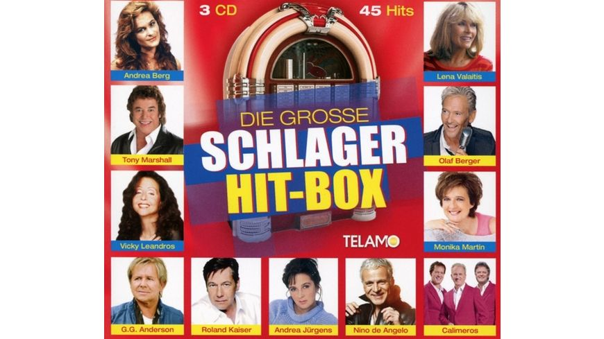 Die Grosse Schlager Hit Box
