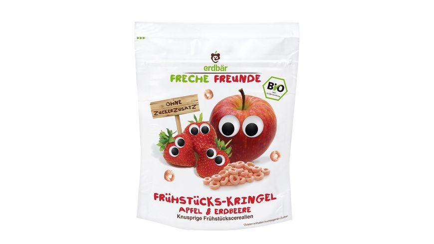 Freche Freunde Fruehstuecks Kringel Apfel Erdbeere