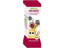 Freche Freunde Bio Getreideriegel Rote Traube Aronia Banane 4er Pack