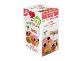 Freche Freunde Bio Quetschie 100 Apfel Mango Kiwi 4er Pack