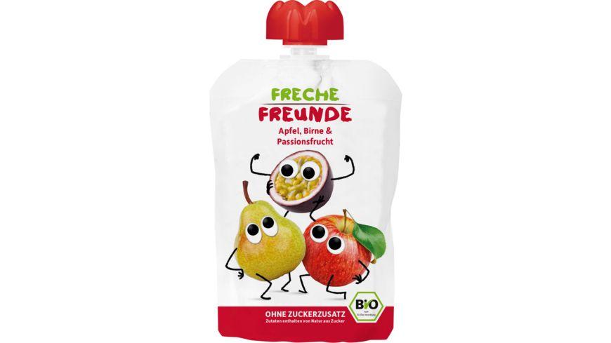 Freche Freunde Bio Quetschie Apfel Birne Passionsfrucht