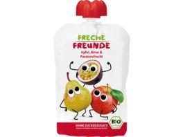 Freche Freunde Quetschie Apfel Birne Passionsfrucht