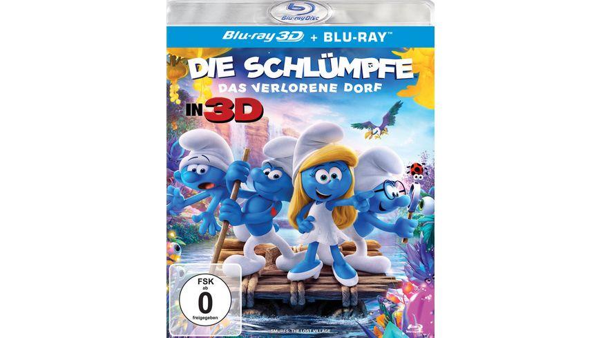 Die Schluempfe Das verlorene Dorf Blu ray 2D
